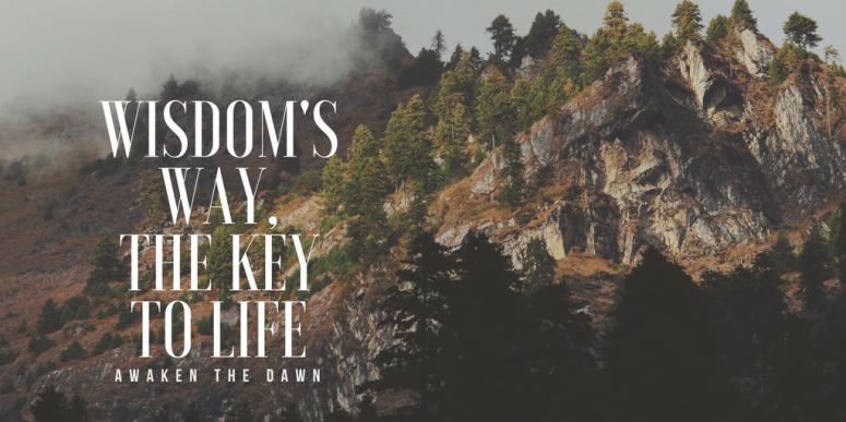 wisdom's way the key to life